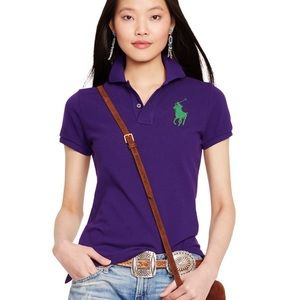 The skinny polo by Ralph Lauren- diff colors